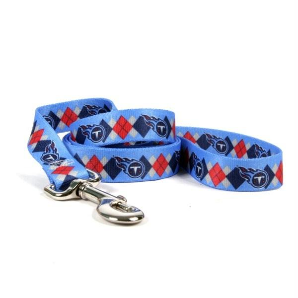Tennessee Titans Argyle Nylon Leash - staygoldendoodle.com