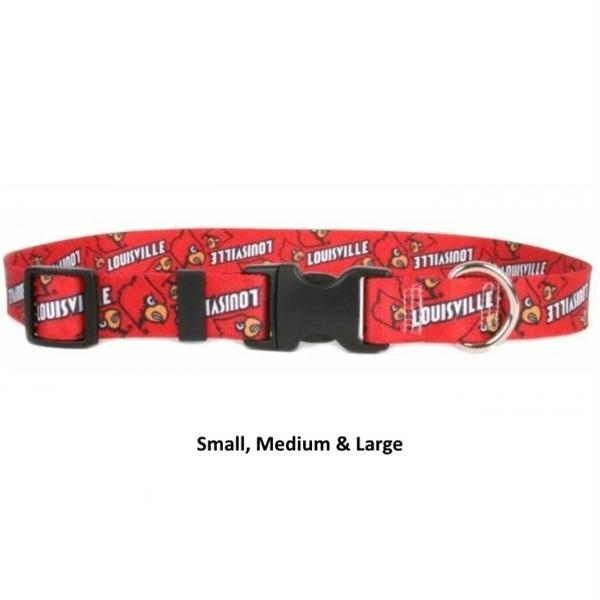 Louisville Cardinals Nylon Collar - staygoldendoodle.com