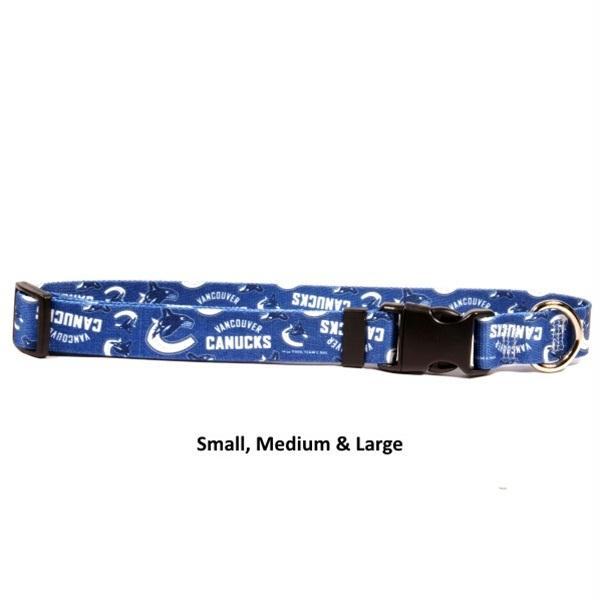 Vancouver Canucks Nylon Collar - staygoldendoodle.com