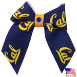 Cal Berkeley Bears Pet Hair Bow - staygoldendoodle.com