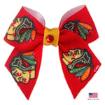 Chicago Blackhawks Pet Hair Bow - staygoldendoodle.com