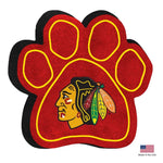 Chicago Blackhawks Paw Squeak Toy - staygoldendoodle.com