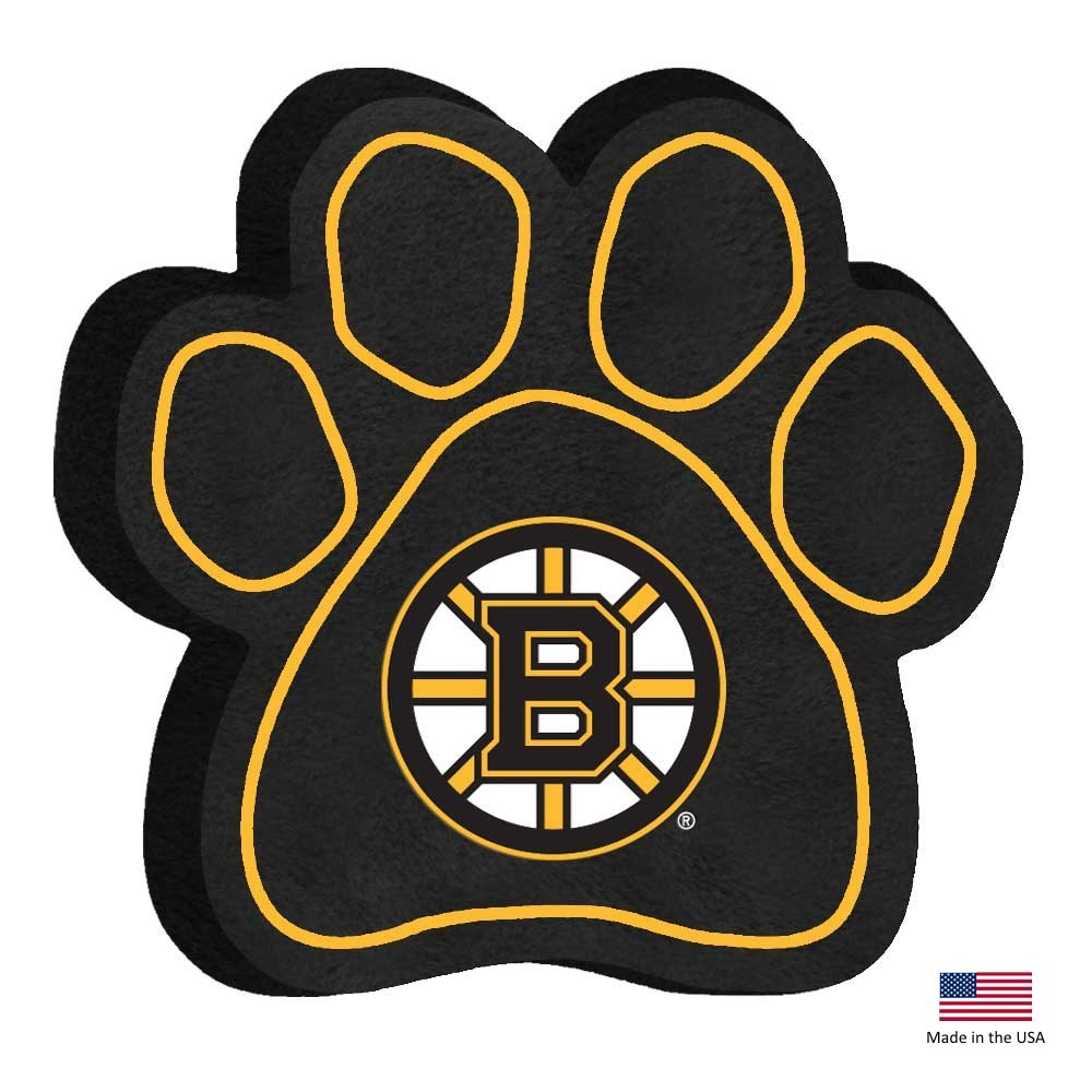 Boston Bruins Paw Squeak Toy - staygoldendoodle.com
