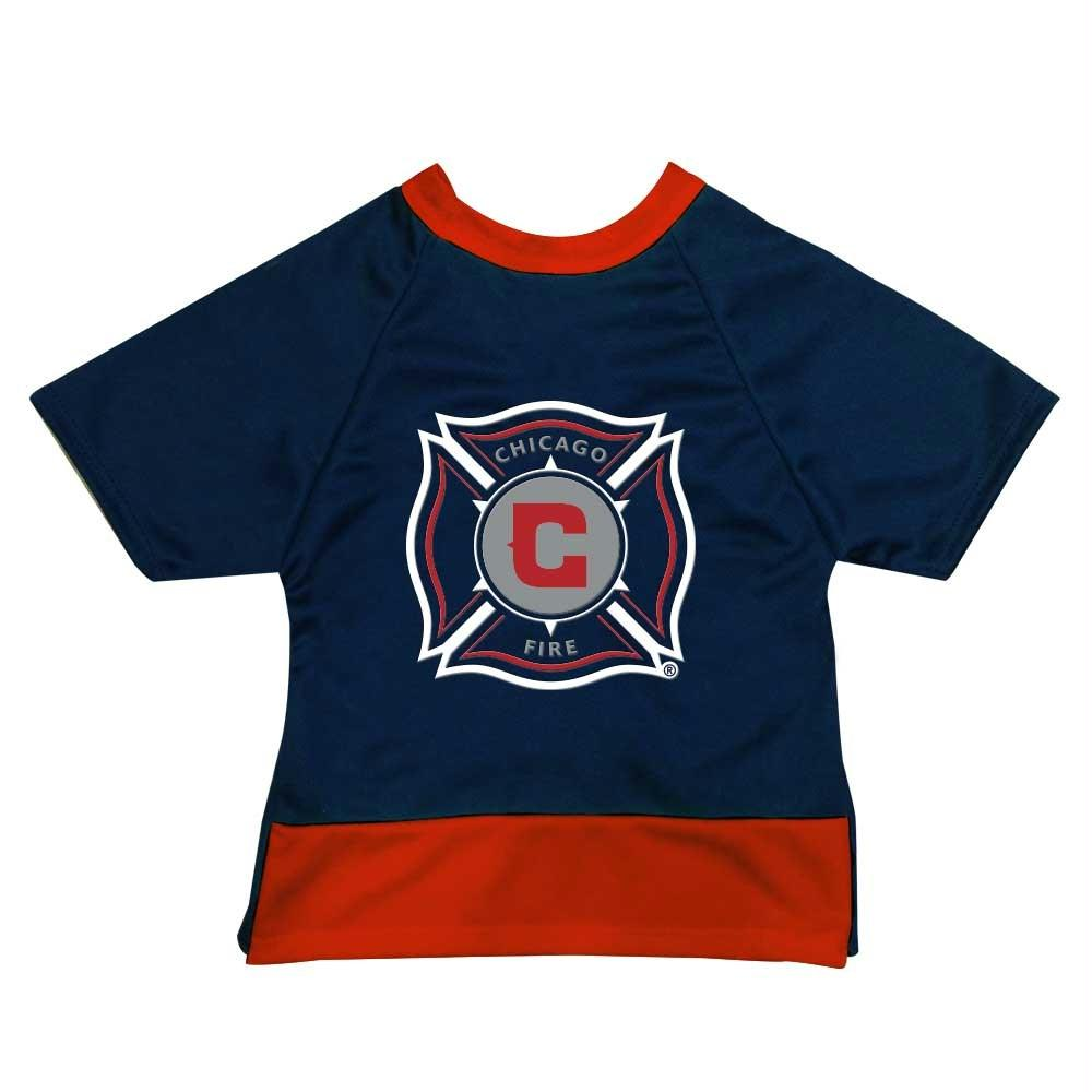 Chicago Fire Premium Pet Jersey - staygoldendoodle.com