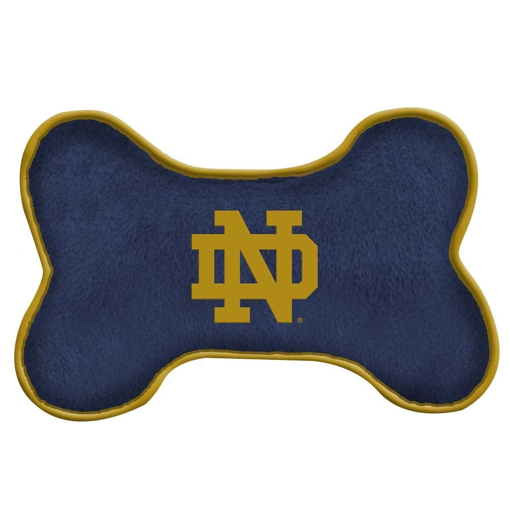 Notre Dame Fighting Irish Squeak Toy - Large - staygoldendoodle.com