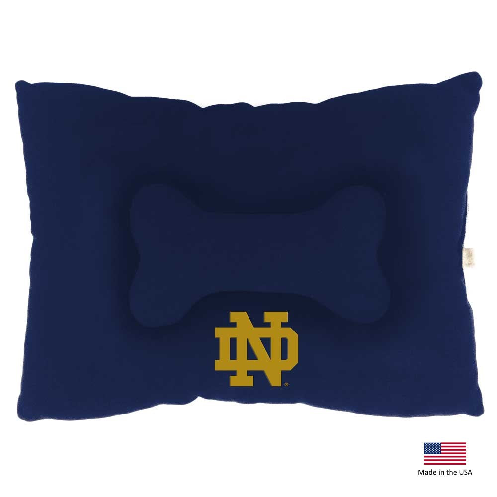 Notre Dame Fighting Irish Pet Slumber Bed - Large - staygoldendoodle.com