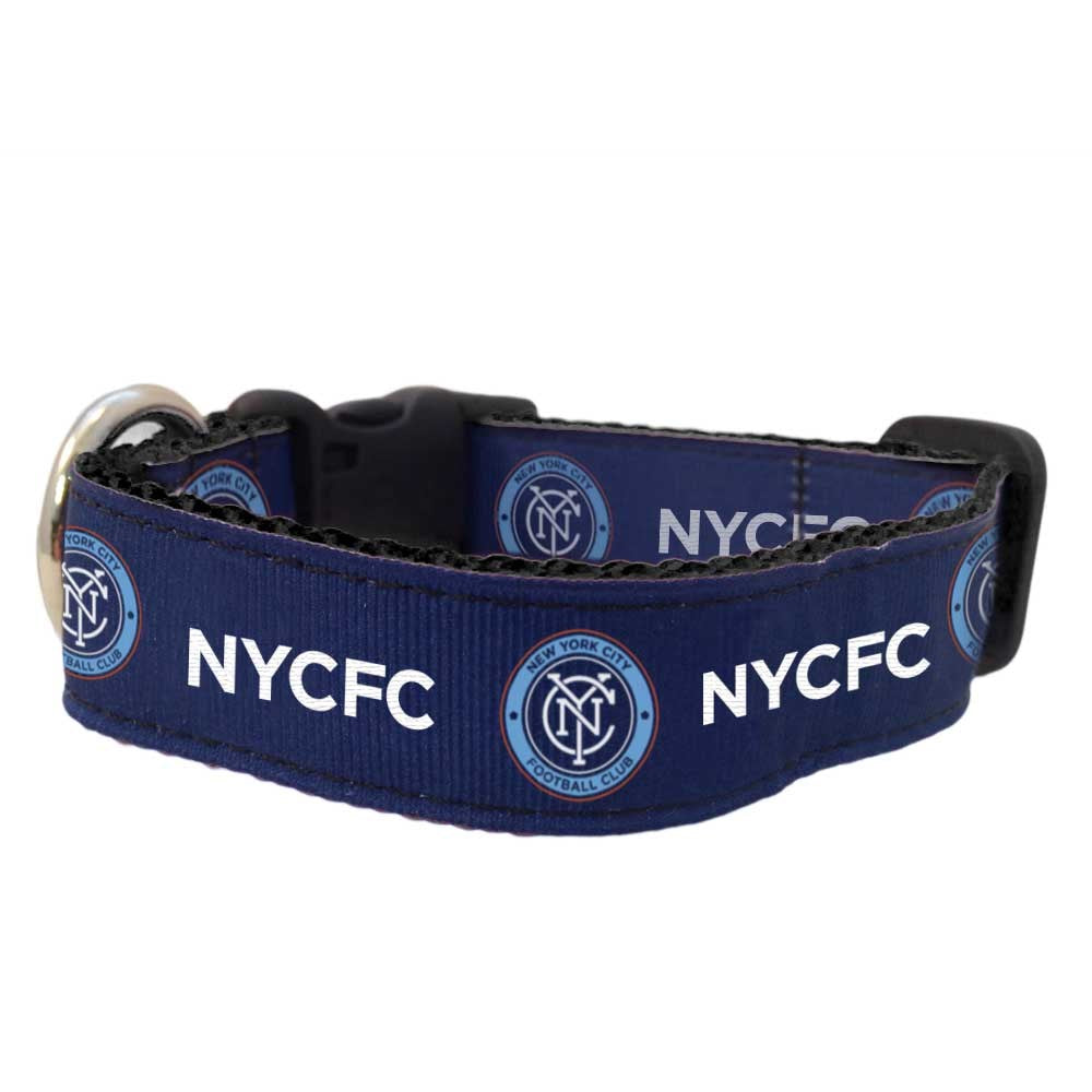 New York City FC Pet Premium Collar - staygoldendoodle.com