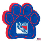 New York Rangers Paw Squeak Toy - staygoldendoodle.com