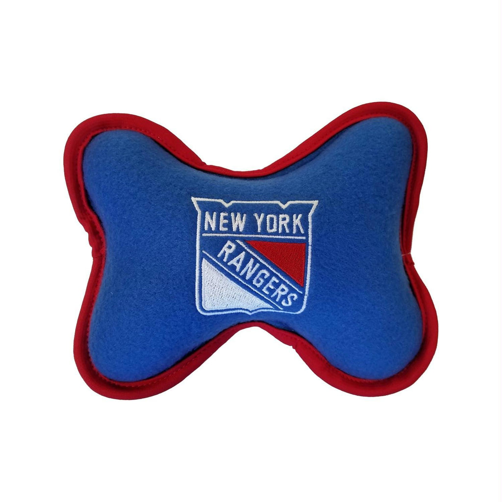 New York Rangers Squeak Toy - Small - staygoldendoodle.com