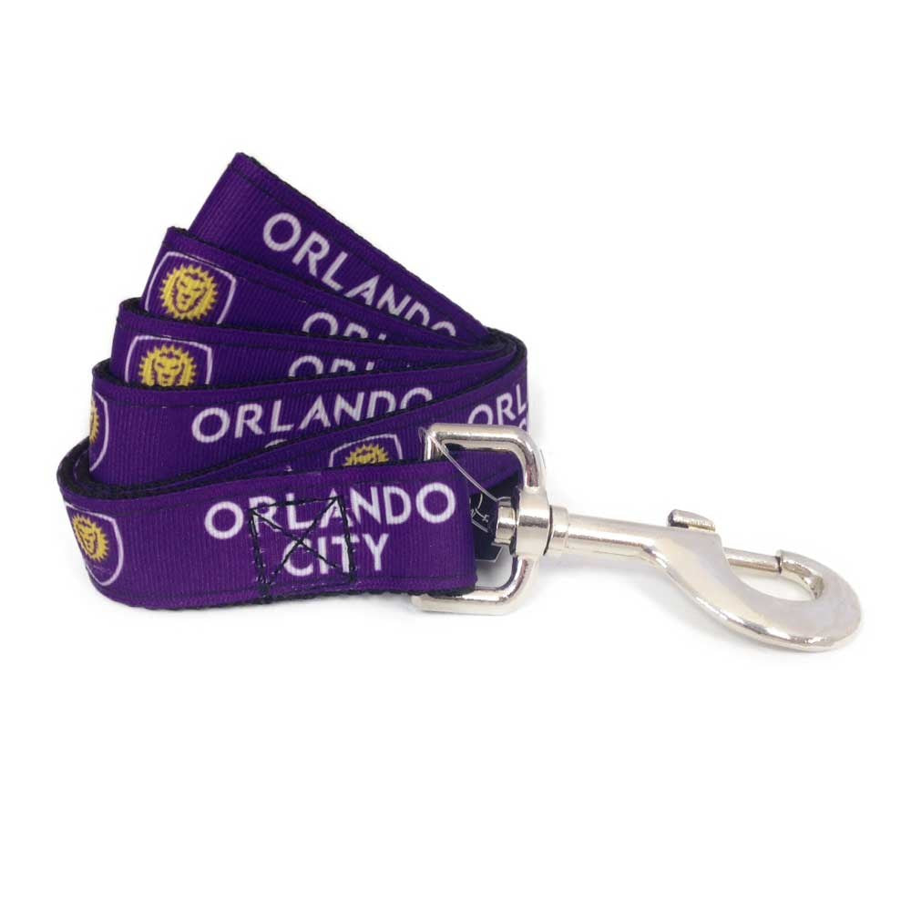 Orlando City SC Pet Premium Leash - staygoldendoodle.com