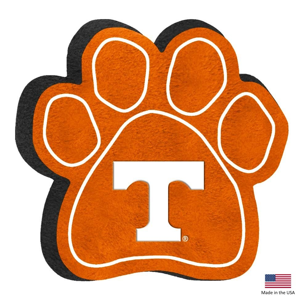 Tennessee Volunteers Paw Squeak Toy - staygoldendoodle.com