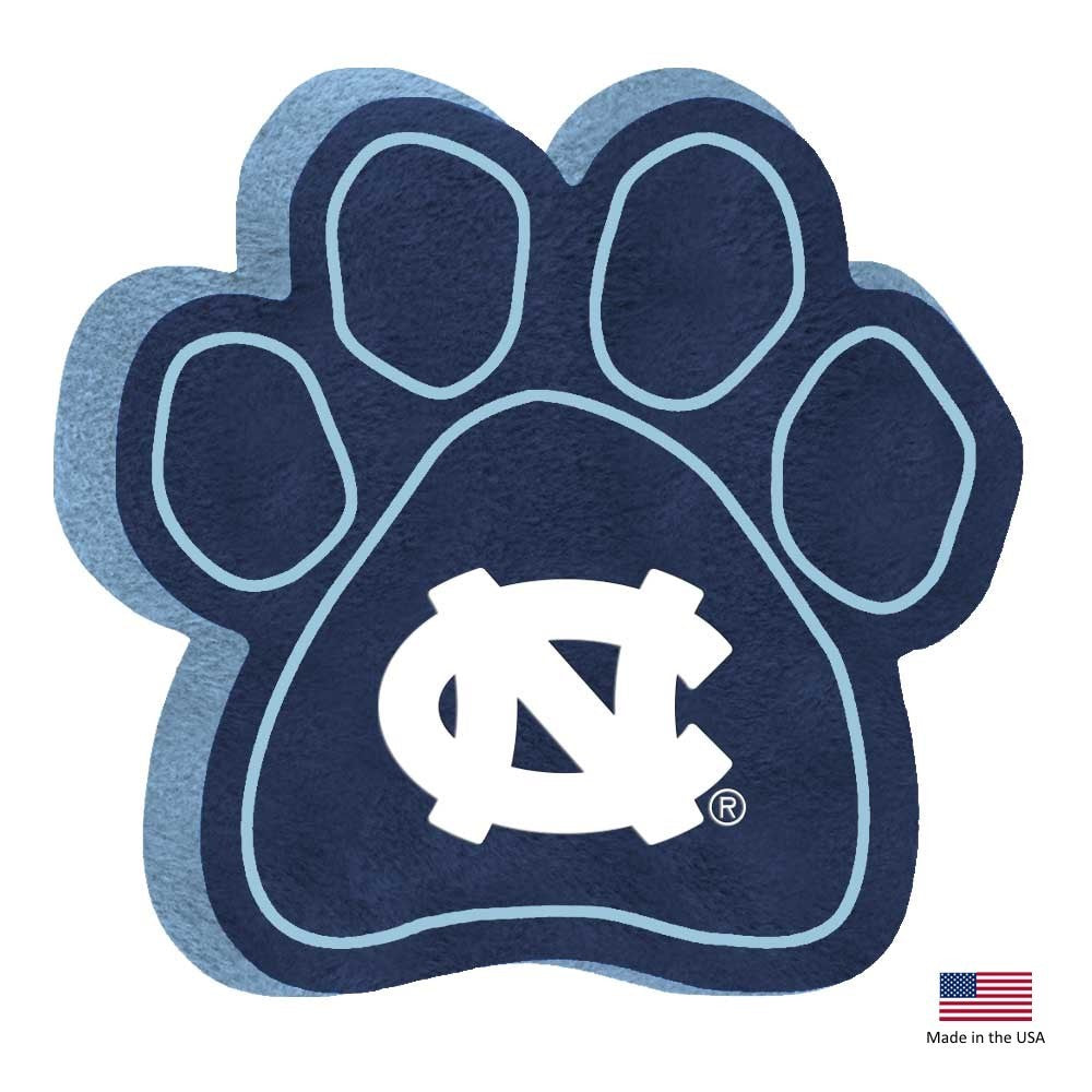 North Carolina Tarheels Paw Squeak Toy - staygoldendoodle.com