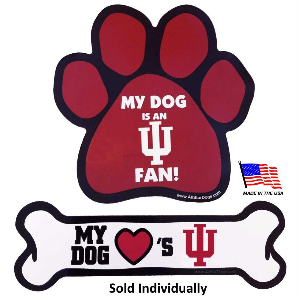 Indiana Hoosiers Car Magnets - staygoldendoodle.com