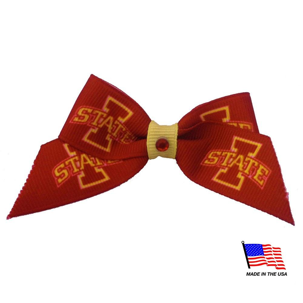 Iowa State Cyclones Pet Hair Bow - staygoldendoodle.com