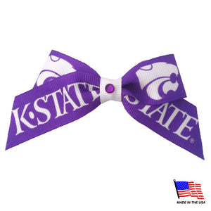 Kansas State Wildcats Pet Hair Bow - staygoldendoodle.com