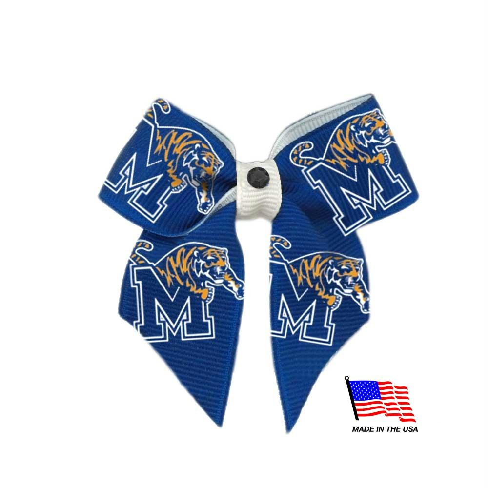 Memphis Tigers Pet Hair Bow - staygoldendoodle.com