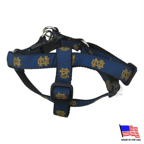 Notre Dame Fighting Irish Pet Harness - staygoldendoodle.com
