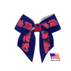 Ole Miss Rebels Pet Hair Bow - staygoldendoodle.com