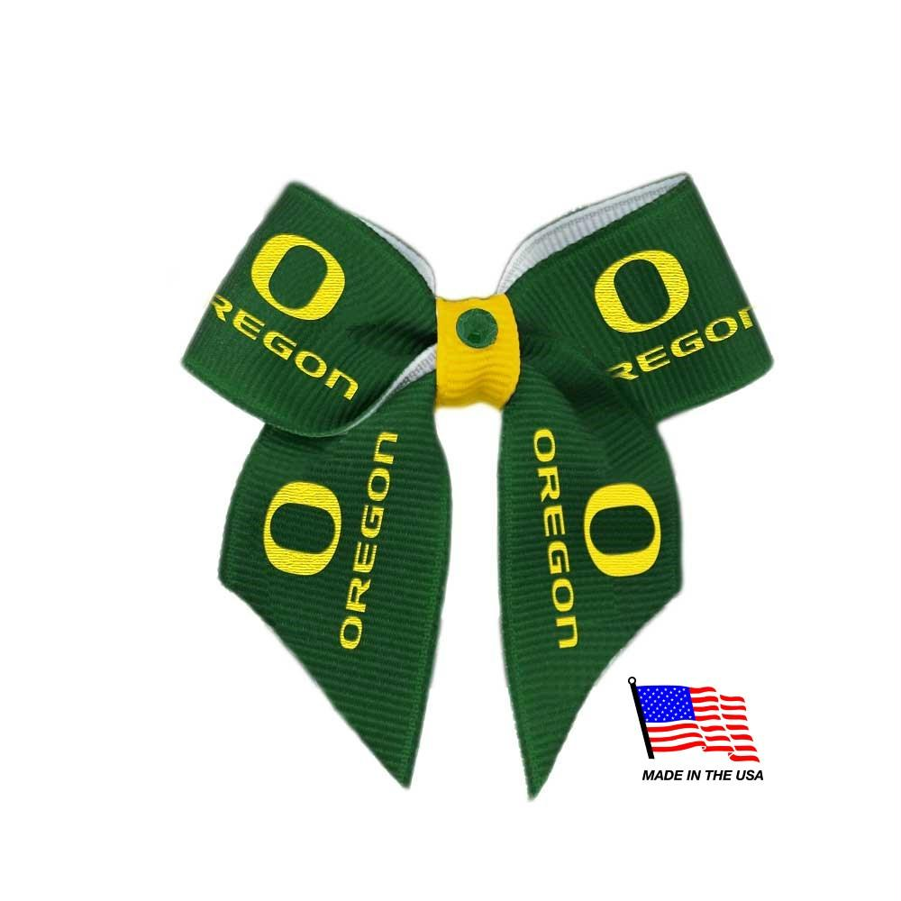 Oregon Ducks Pet Hair Bow - staygoldendoodle.com