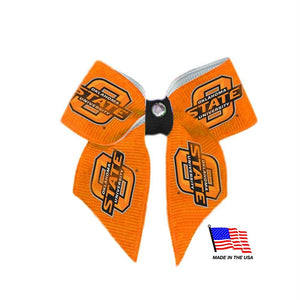 Oklahoma State Cowboys Pet Hair Bow - staygoldendoodle.com
