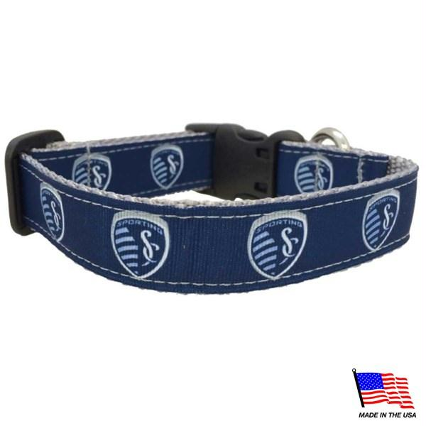 Sporting KC Pet Collar - staygoldendoodle.com