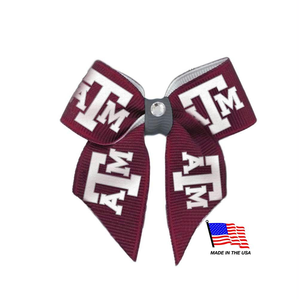 Texas A&M Aggies Pet Hair Bow - staygoldendoodle.com