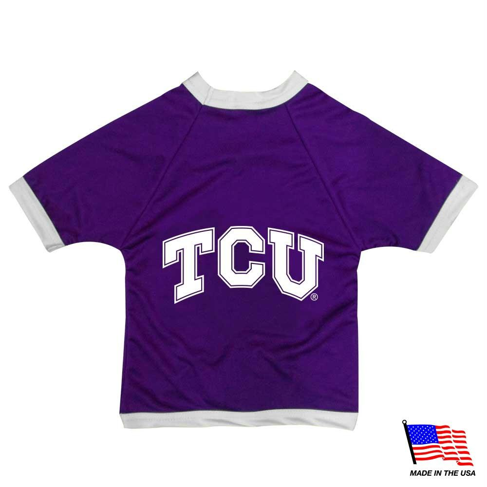 TCU Horned Frogs Athletic Mesh Pet Jersey - staygoldendoodle.com