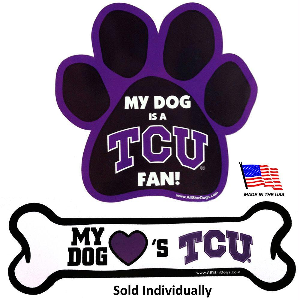 TCU Horned Frogs Car Magnets - staygoldendoodle.com