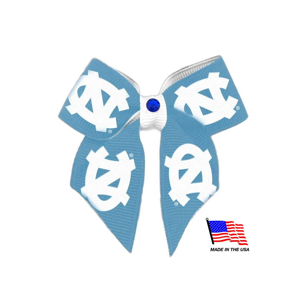 North Carolina Tarheels Pet Hair Bow - staygoldendoodle.com