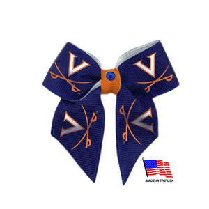 Virginia Cavaliers Pet Hair Bow - staygoldendoodle.com