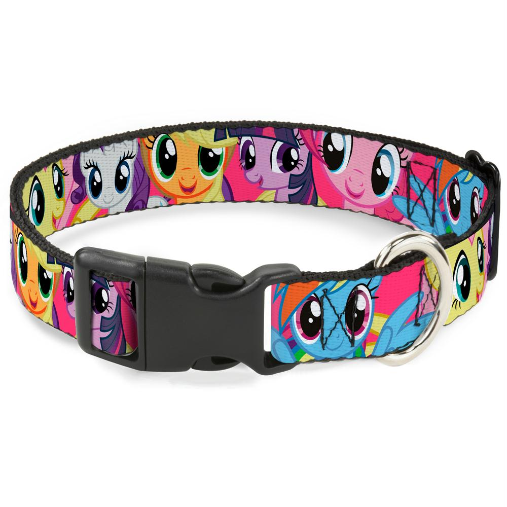 Buckle-Down My Little Pony Fuchsia Pet Collar - staygoldendoodle.com