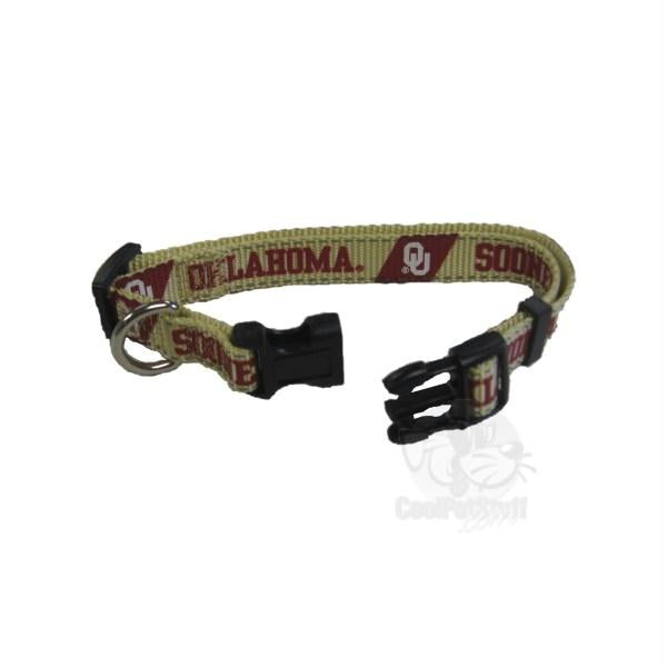Oklahoma Sooners Pet Reflective Nylon Collar - staygoldendoodle.com