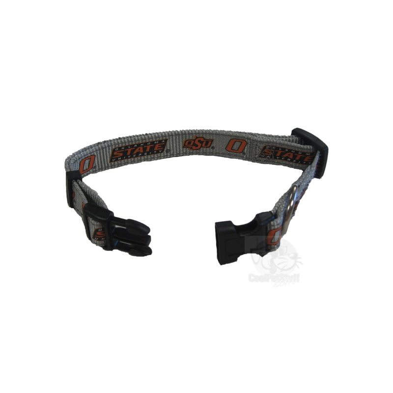 Oklahoma State Cowboys Pet Reflective Nylon Collar - staygoldendoodle.com