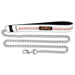 San Francisco Giants Leather Baseball Seam Leash - staygoldendoodle.com