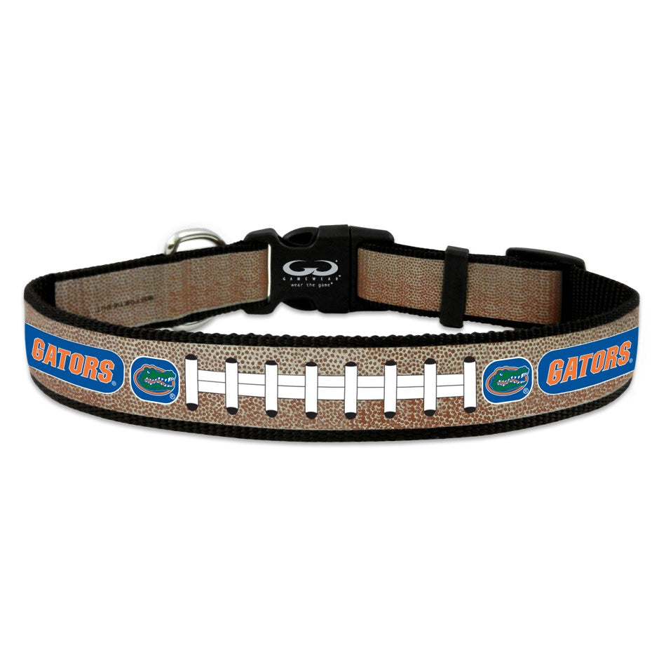 Florida Gators Reflective Football Pet Collar - staygoldendoodle.com