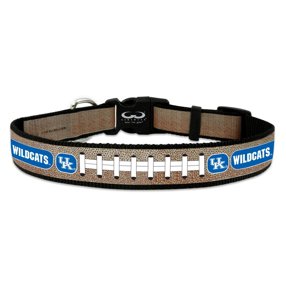 Kentucky Wildcats Reflective Football Pet Collar - Toy - staygoldendoodle.com