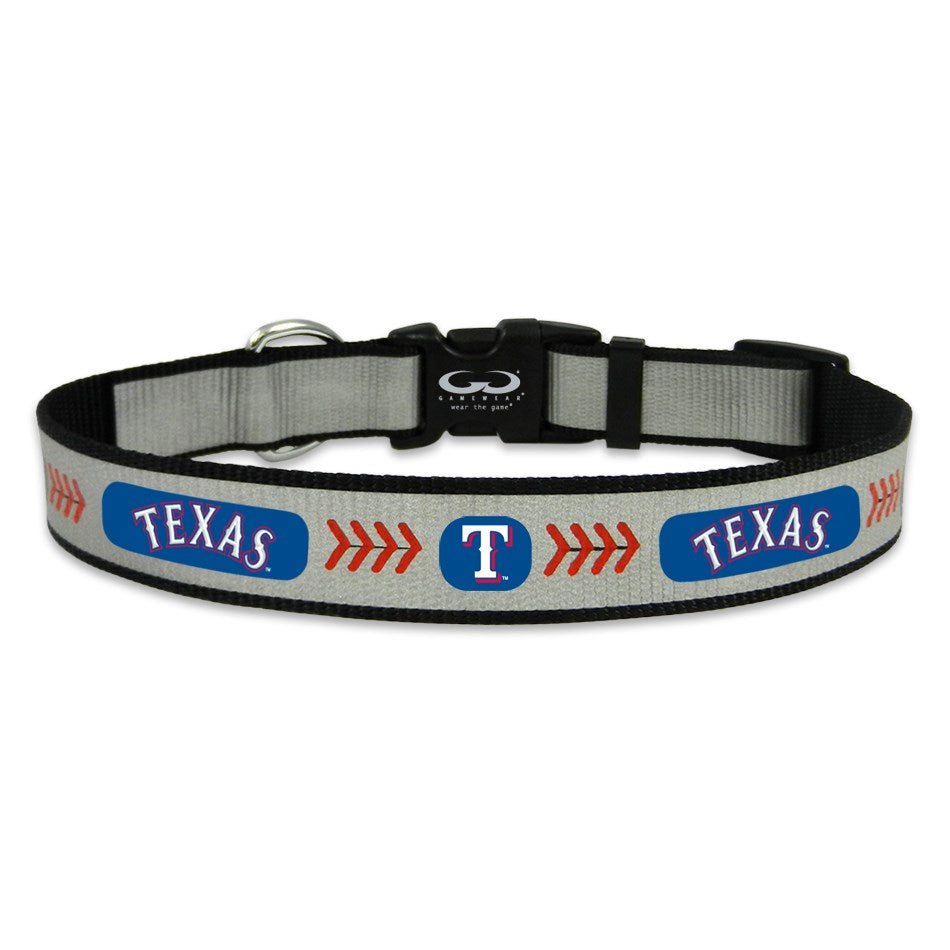 Texas Rangers Reflective Pet Collar - staygoldendoodle.com