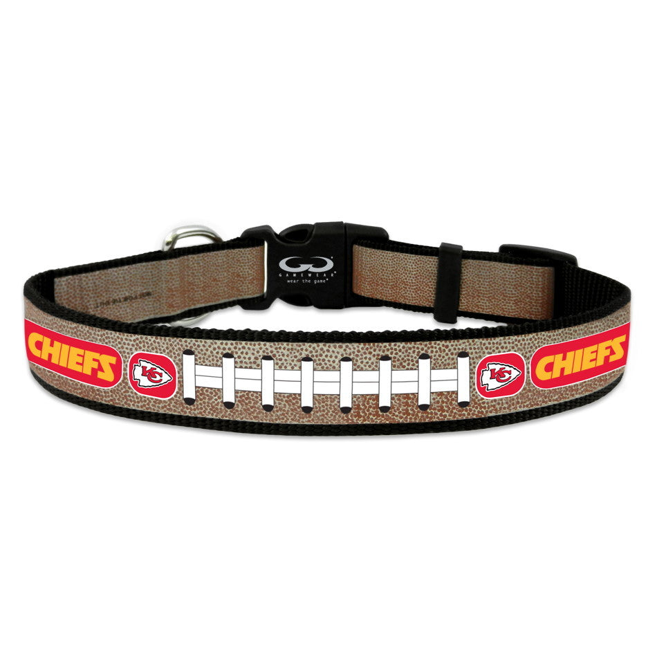 Kansas City Chiefs Reflective Football Pet Collar - Toy - staygoldendoodle.com