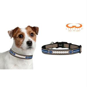 Seattle Seahawks Reflective Football Pet Collar - staygoldendoodle.com
