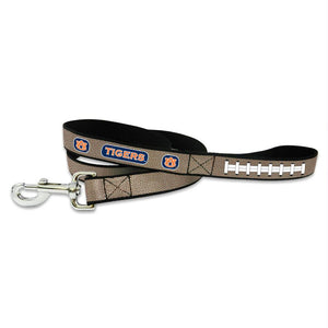 Auburn Tigers Reflective Football Pet Leash - staygoldendoodle.com