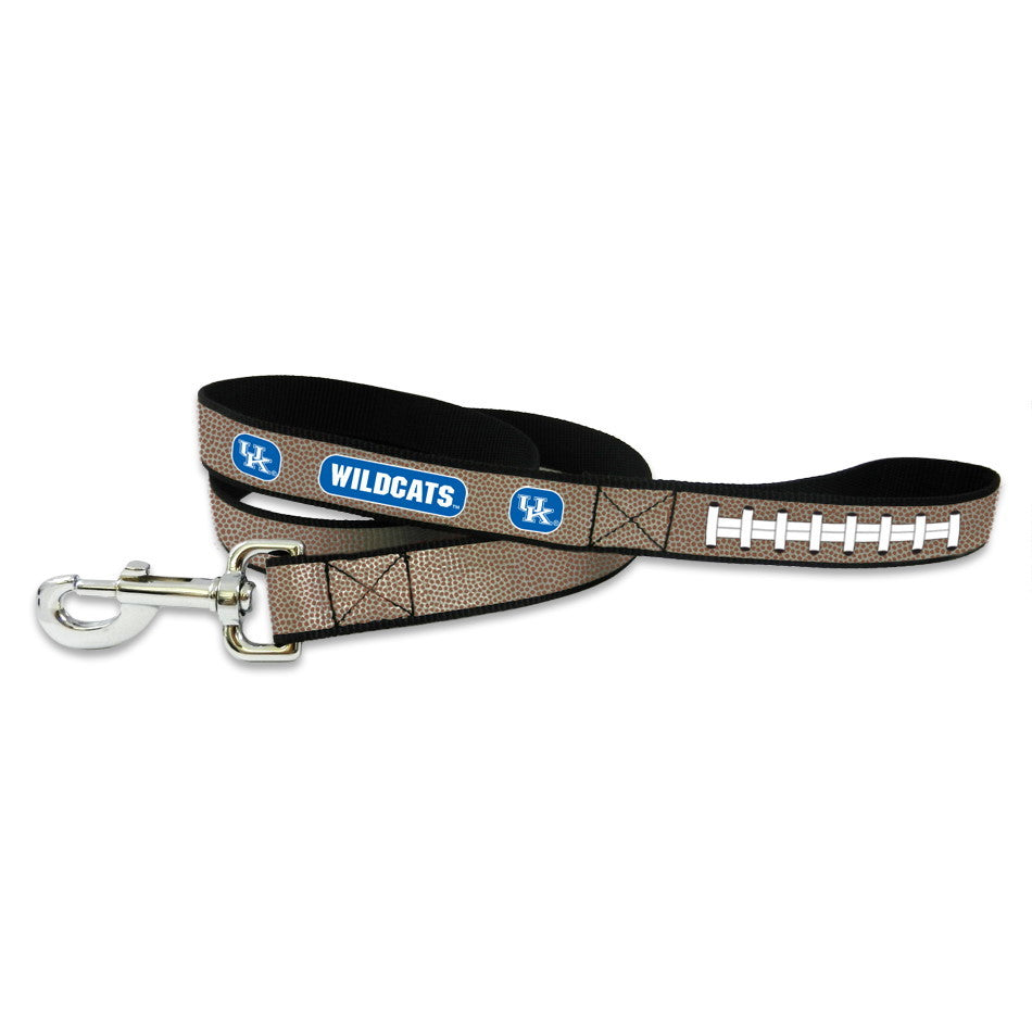 Kentucky Wildcats Reflective Football Pet Leash - Large - staygoldendoodle.com