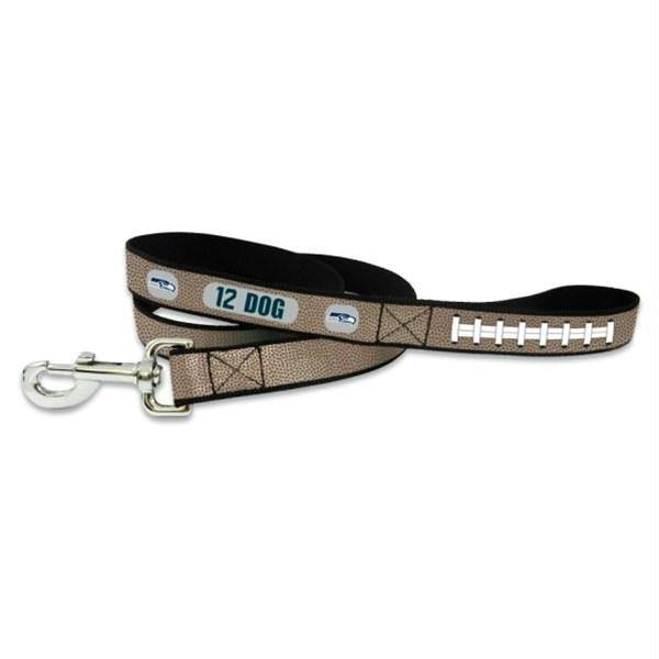 Seattle Seahawks 12th Dog Reflective Football Pet Leash - staygoldendoodle.com