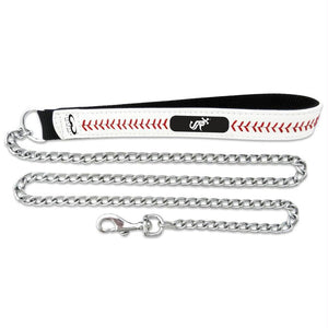 Chicago White Sox Leather Baseball Seam Leash - staygoldendoodle.com