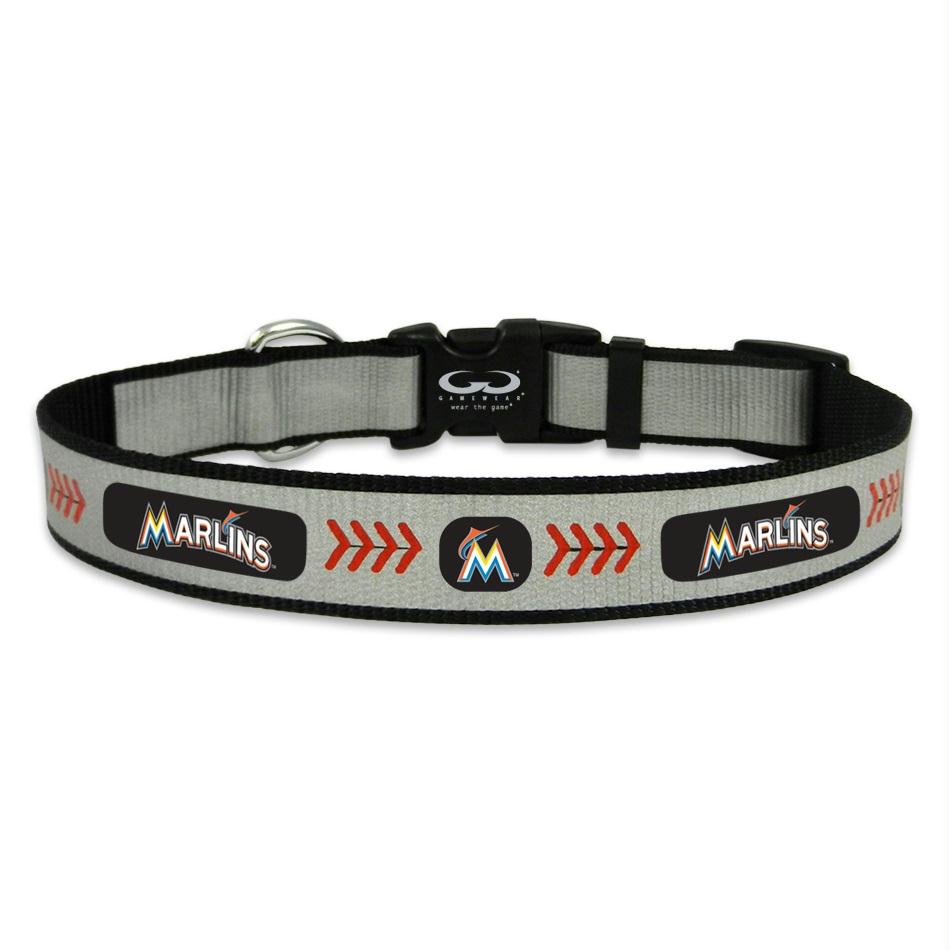 Miami Marlins Pet Reflective Collar - staygoldendoodle.com