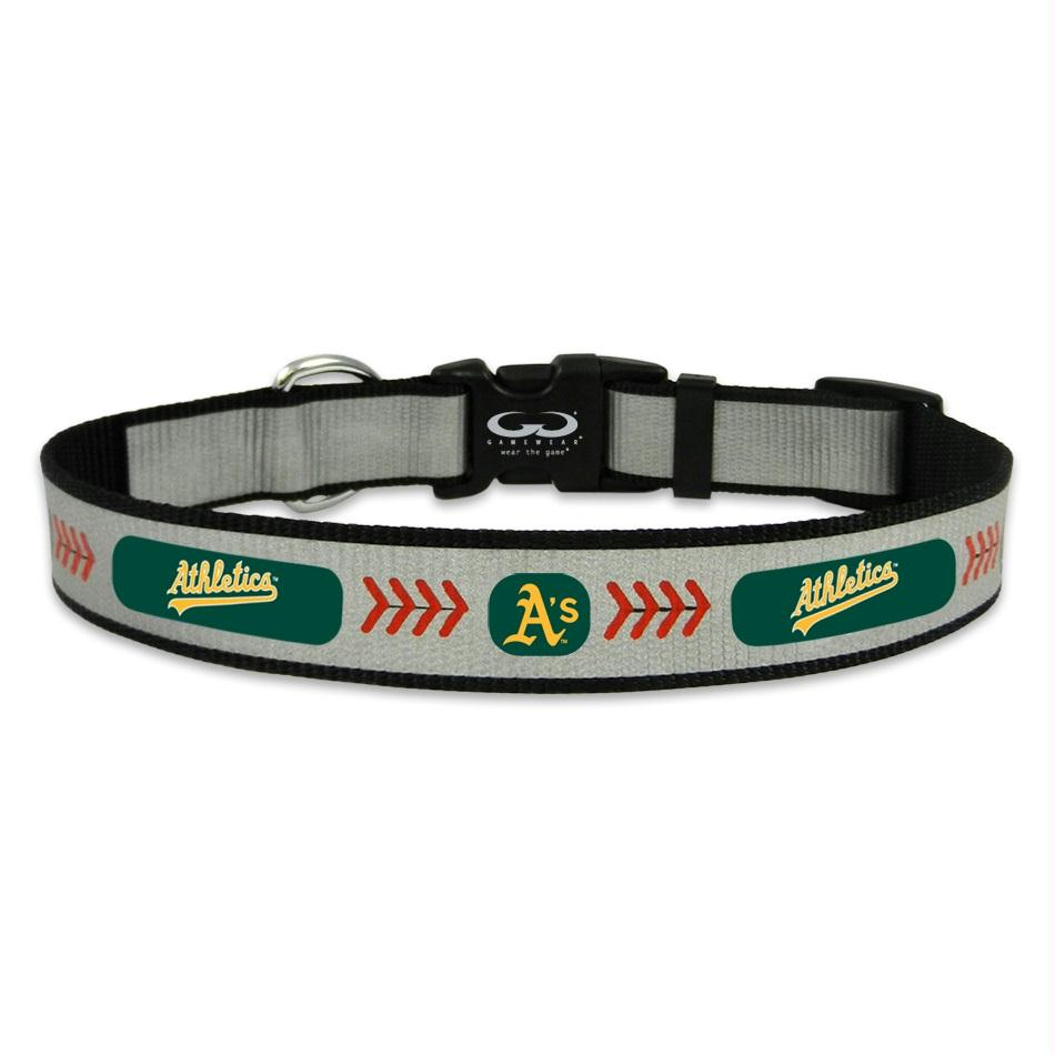 "Oakland A""s Pet Reflective Collar - staygoldendoodle.com"