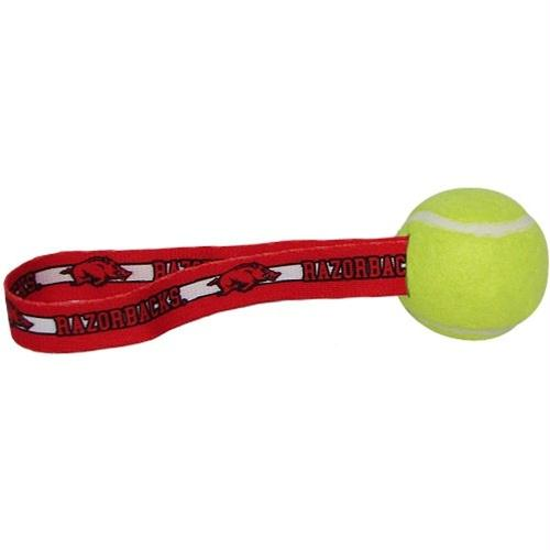 Arkansas Tennis Ball Toss Toy - staygoldendoodle.com