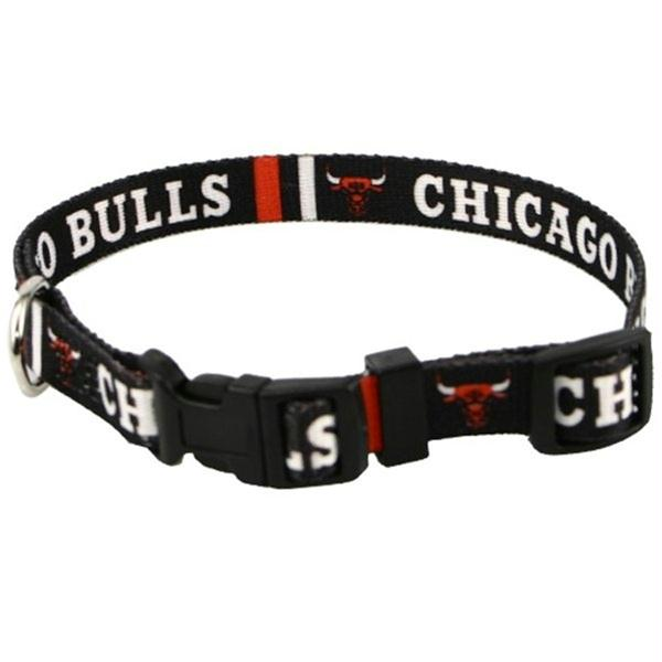 Chicago Bulls Dog Collar - staygoldendoodle.com