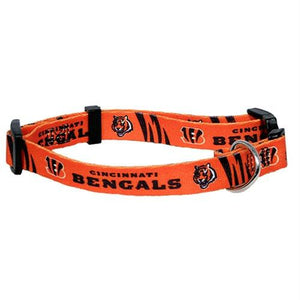 Cincinnati Bengals Pet Collar - staygoldendoodle.com