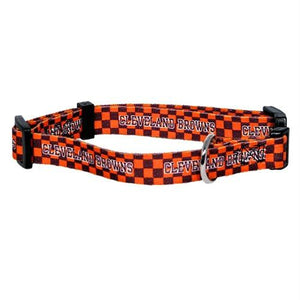 Cleveland Browns Pet Collar - staygoldendoodle.com