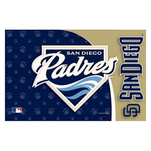 San Diego Padres Pet Mat - staygoldendoodle.com